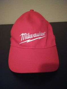 Red Embroidered Milwaukee Mens Stretch-fit Baseball Hat  fashion  clothing   shoes   c740d7e0ac0a