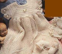 فساتين كروشية أطفال 2014 Crochet