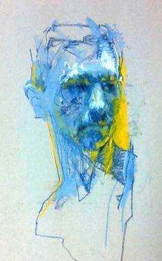 cian mcloughlin blue man