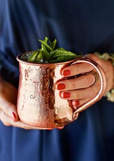 Moscow Mule | For the best results, chill your mug in the freezer for a few hours before serving this refreshing drink.