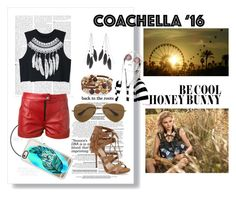 """""""Coachella Fun"""" by geek-from-hell ❤ liked on Polyvore featuring WithChic, Magda Butrym, Casetify, Charlotte Russe, Jessica Simpson, Chico's, Urban Decay and Ray-Ban"""
