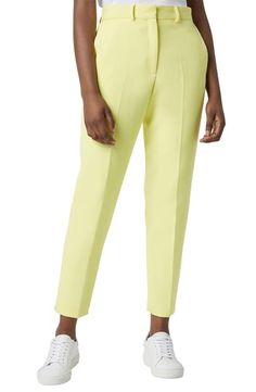 French Connection Adisa Sundae Suiting Pants In Lemon Tonic French Connection Style, World Of Fashion, Your Style, Pajama Pants, Jumpsuit, Nordstrom, Clothes For Women, Size 2, Lemon