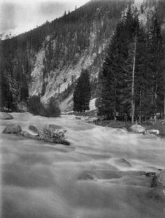 Near Wiesen in the Zugb Pass Platinum print, 20 x Initialled and inscribed verso, dated June 1896 Previously on sale at Adam's. Initials, Photographs, June, Dating, Outdoor, Outdoors, Quotes, Photos, Outdoor Games