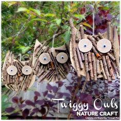 Learning and Exploring Through Play: Search results for Owl Forest School Activities, Nature Activities, Autumn Activities, Craft Activities, Forest Crafts, Twig Crafts, Garden Crafts, Leaf Crafts, Recycled Crafts