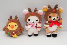 Rilakkuma Christmas Last November we were in Japan on our holiday. Normally one of the things we do on our holiday is to visit some (well most) of the Rilakkuma stores in and around Tokyo. You can check out our first post about Rilakkuma to read what shops we visited by clicking here or searching for Rilakkuma on this site. Rilakkuma Christmas releases Rilakkuma usually has a limited edition set of things for different events or holidays, so being around Christmas it was the Christmas set…