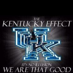 Kentucky basketball never stops!!! We are that good!!! GO BIG BLUE!!!
