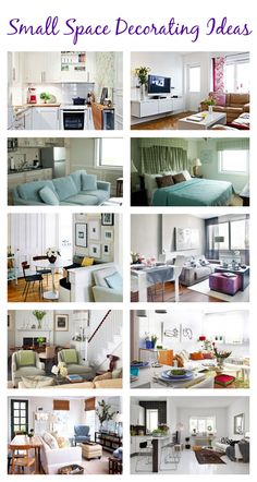 small space decorating ideas