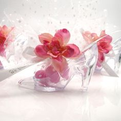 Sweet high heels part favor candy bag Sweet 16 Party Favors, Tea Party Favors, Bridal Shower Favors, Wedding Favors, Sweet 16 Centerpieces, Balloon Centerpieces, Glass Slipper Cinderella, Sweet 16 Themes, Royal Party