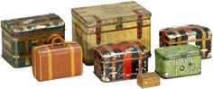 vintage tin toy suitcase - Google Search