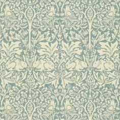 The Original Morris & Co - Arts and crafts, fabrics and wallpaper designs by William Morris & Company | Products | British/UK Fabrics and Wallpapers | Brer Rabbit (DMCW210413) | Morris Wallpaper Compendium II