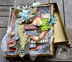 Susan Lui Graphic 45 French Country Treasure Box 7