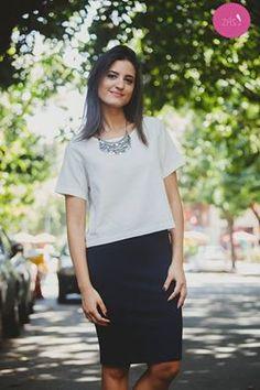 Para acertar sempre: Look preto e branco! #Vemprazas