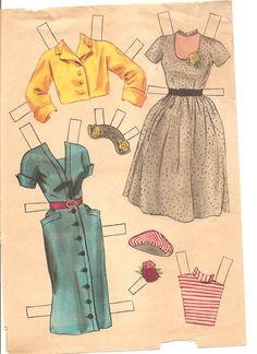 doris day paper dolls | Miss Missy Paper Dolls