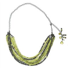 multistrand necklace on Avindy
