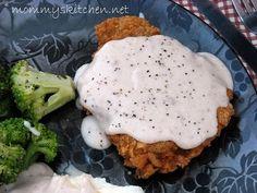 Mommy's Kitchen: Chicken Fried Steak W/ Cream Gravy & Thank You Mr. Walmart Man