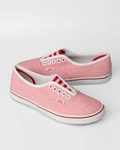 vans light chambray lo pro gore red  $52