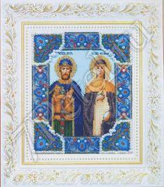 Б-1185 - Икона Петра и Февронии