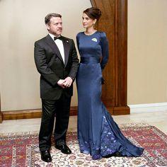 Queen Rania and King Abdullah