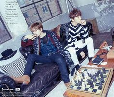 Donghae & Eunhyuk 2nd Japanese mini album ''Present'' photo teaser