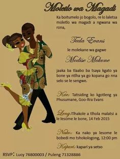 108 Best African Wedding Invites Images Traditional Wedding