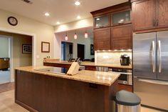 Best 106 Best Kitchens Dark Brown Images Cherry Finish 400 x 300