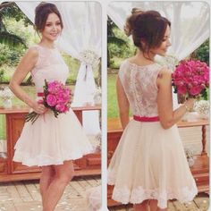 tulle homecoming dress,lace sexy homecoming dress, fashion homecoming gown,short prom dress