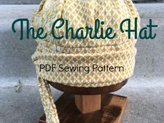 The Charlie Hat PDF Sewing Pattern from nogginshop