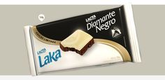 Barra de chocolate Diamante Negro e Laka