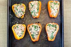Sausage, Goat Cheese and Arugula Stuffed Peppers | Skinny Mom | Where Moms Get the Skinny on Healthy Living