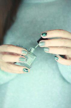 Nice color - Celadon // Nails