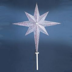 Christmas Star Lights Outdoor Blue 3D Moravian Star Holidaylights  Led Stars & Snowflakes