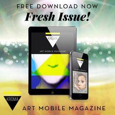 KROMA Magazine summer issue is here!  Download and enjoy.  #kromamagazine #pikatablet Free Summer, Art World, Smartphone, Magazine, Creative, Instagram Posts, Magazines