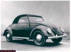 VW Beetle Hebmüller 1949