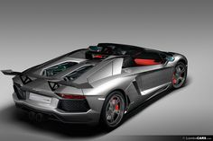 IMS offers the beautiful Shadow kit for the Lamborghini Aventador including front spoiler, side skirts and stunning rear wing.