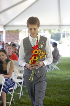 Honor your departed loved ones by saving them a seat | Offbeat Bride