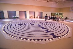 Lent - teaching kids about prayer, labrynth with prayer stations -- this works really well, and kids of all ages enjoy it