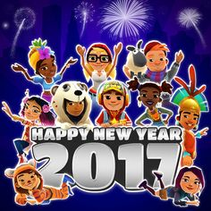 Happy New Year to all Subway Surfers! 😊🎆🎊 #ElectronicsStore