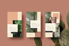 Natural Store Animated Stories by Nomad Visuals on Flugblatt Design, Flyer Design, Book Design, Layout Design, Social Media Template, Social Media Design, Promo Flyer, Text Animation, Instagram Story Template