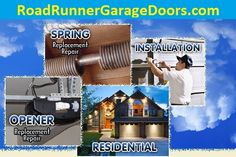 Replacing a broken spring is the most common of garage door repairs. When the spring breaks, the cables on either side of the door become loose or come off the drum.