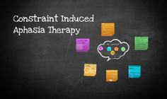 Constraint Induced Aphasia Therapy