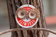 recycled owl