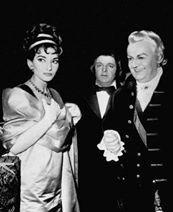 Maria Callas and Tito Gobbi- Tosca
