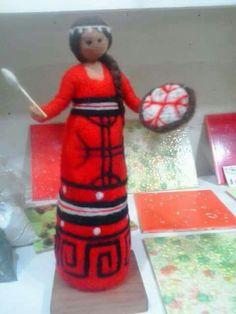 Elf On The Shelf, Needle Felting, Mandala, Holiday Decor, Crochet, Projects, Character, Loom, Log Projects
