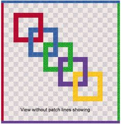 EQ8 Lessons with Yvonne-QUICK COLORING FOR MAXIMUM EFFECT   The Electric Quilt Blog Electric Quilt, Coloring, Patches, Quilts, Blog, Quilt Sets, Blogging, Log Cabin Quilts, Quilting