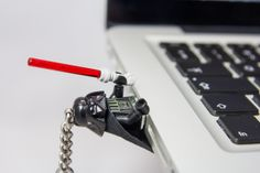 #Vader #laptop #Pendrive 8GB #USB #lego #flash #pendrive #minifigures #handmade #brick-craft