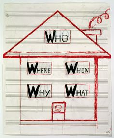 * Who Where When Why What 1999 - Louise Bourgeois.