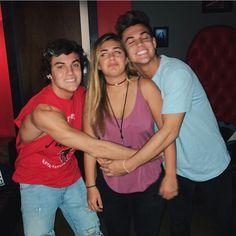 Ethan, Cameron and Gray