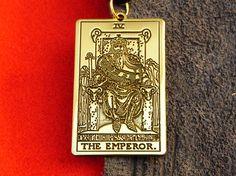 Pendant  Tarot  Card  The Emperor Tarot 4th card
