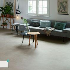 "Forbo Modul'up Habitat 2320410 ""Chêne Cérusé"" Deco Jungle, Sofa, Couch, Entryway Bench, Habitats, Guest Room, Forbo, Flooring Ideas, Interior Ideas"
