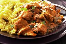 No Hurry Chicken Curry served with Rice. Our aromatic and delicately spiced Gourmet Curry Sauce Mix is suitable for both slow cooker and pan prep. See our website for recipe and ingredients